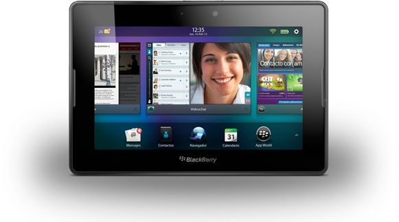 Blackberry Playbook tablet electronica dispositivo