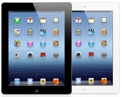 New iPad 3 Nuevo Apple tablet tableta