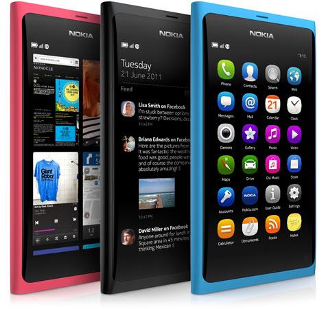 Nokia N9 Smartphones Teléfono Celular Inteligente