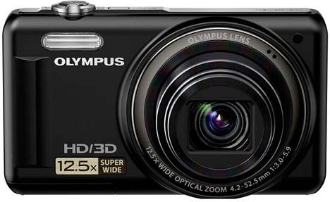 Olympus VR-320 cámara digital fotográfica fotografía