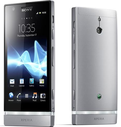 Sony Xperia P smartphones teléfono inteligente celular android