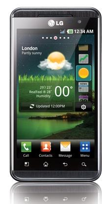 Smartphone LG Optimus 3D P920
