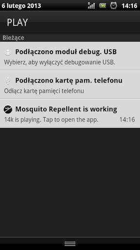 Aplicacion repelente de mosquitos